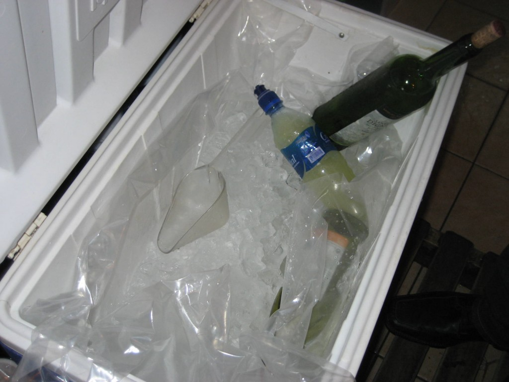Malas practicas con el hielo
