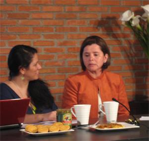 La Ministra de Salud, Dra. María Luisa Ávila, se refiere a inspecciones y denuncias.