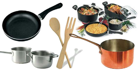 Cuidado con los utensilios y equipos utilizados para for Utensilios y materiales de una cocina de restaurante